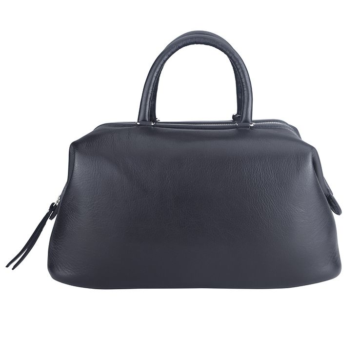 Genuine Baggage - MarlaFiji Milly black classic Italian leather handbag, $262.50 (http://www.genuinebaggage.com.au/marlafiji-milly-black-classic-italian-leather-handbag/)