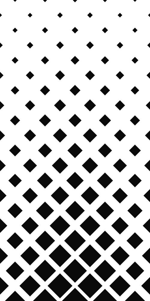 Abstract Monochrome Square Pattern Background Design Vector