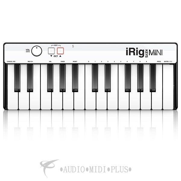 IK Multimedia iRig Keys Mini 25 Midi Controller for iPhone, iPad, Android 5 - IPIRIGKEYSM6