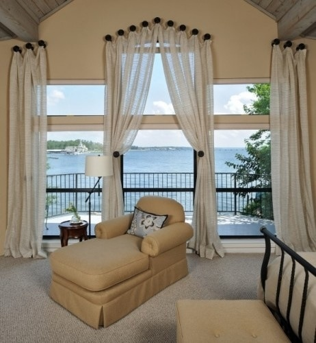 Curtains For Bedroom Window Ideas Master Bedroom Bed Direction Turquoise Colour Bedroom Co Ed Bedroom Decorating Ideas: Palladian Window Curtains