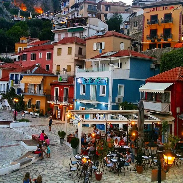 Meanwhile in Parga, Epirus. There's no place like beautiful Greece. Photo by and congrats to @ifigeniakrikeli #greece #parga #epirus #greek #greeks #greeklife #greekgirl #hellas #visitgreece