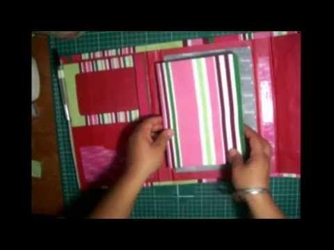 ▶ Como hacer un diario o agenda de cartón - YouTube