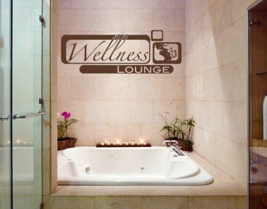 Bathroom Decals 54 best spa & bathroom decals images on pinterest | spa bathrooms