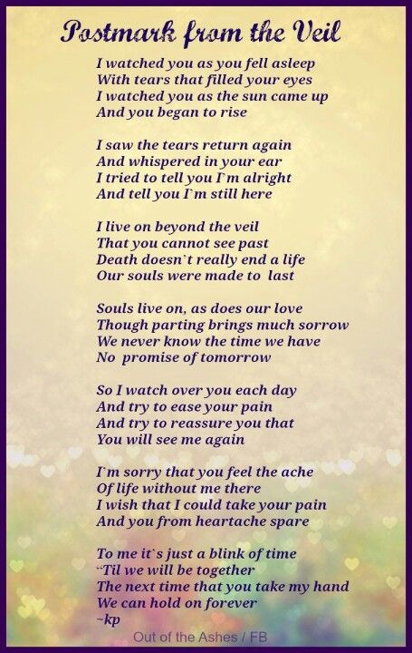 for all of us that have lost someone close. my brother died 12 years ago last week and although I may have been young when he died and not have many memories of him, I still miss him all the time. I love you Sam!