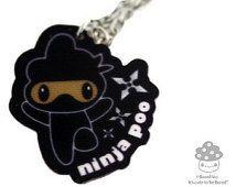 Ninja Poo ketting