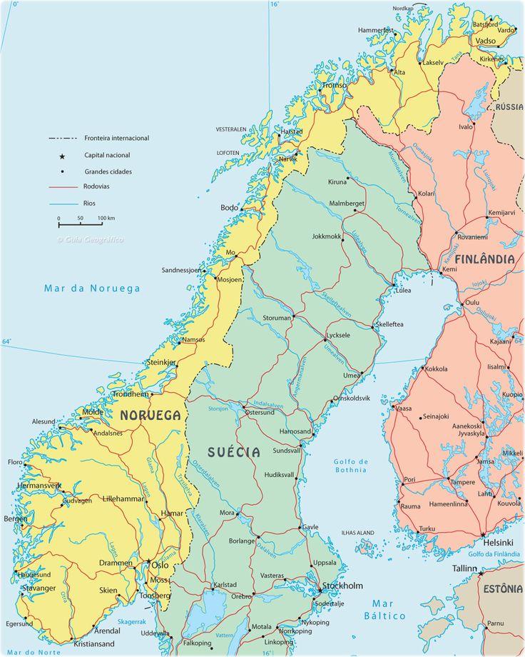 Reino de Noruega Capital Oslo 5.063.709 habitantes (2013) Idioma Noruego Moneda Corona noruega (NOK)