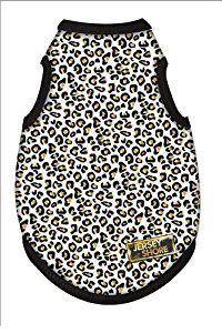 Amazon.com : MTV's Jersey Shore Dog Shirt, White Leopard Print, Small : Pet Shirts : Pet Supplies