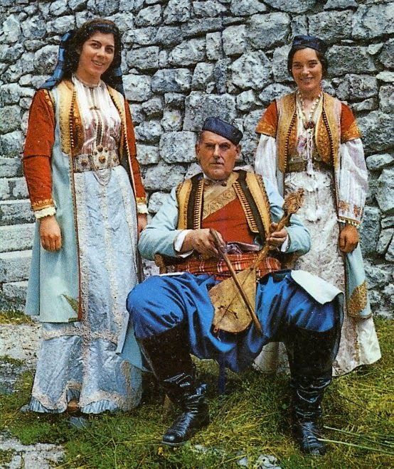 FolkCostume&Embroidery: Overview of the Folk Costumes of Europe, Serbia