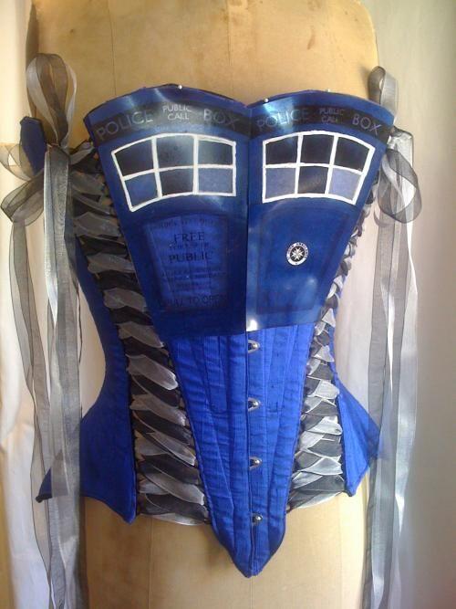 Doctor Who TARDIS Corset
