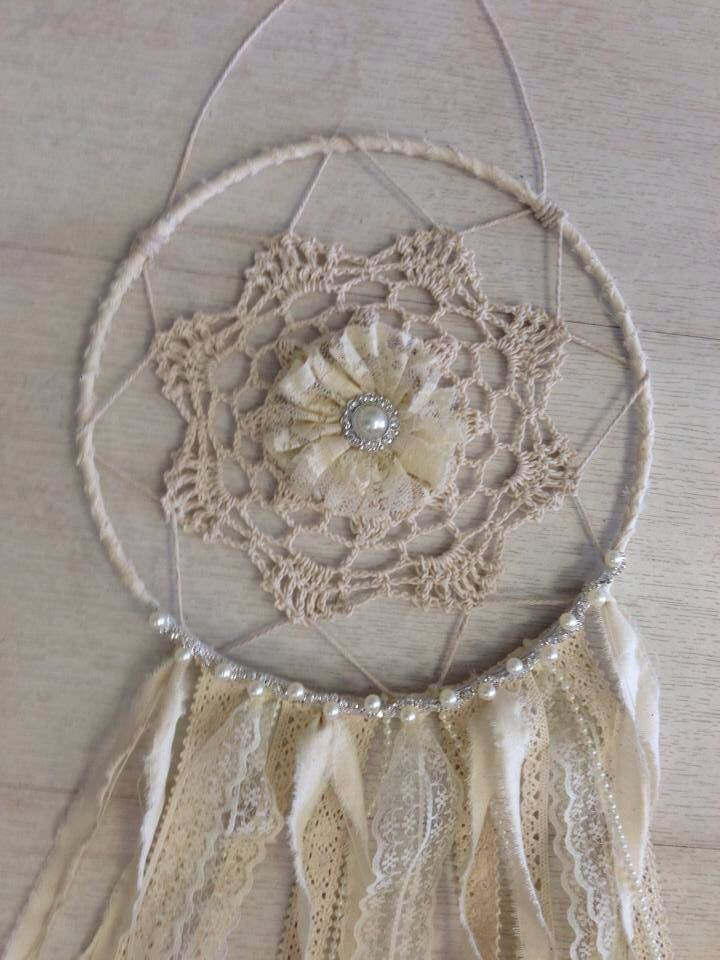 Vintage Dream Catcher with a hint of bling.