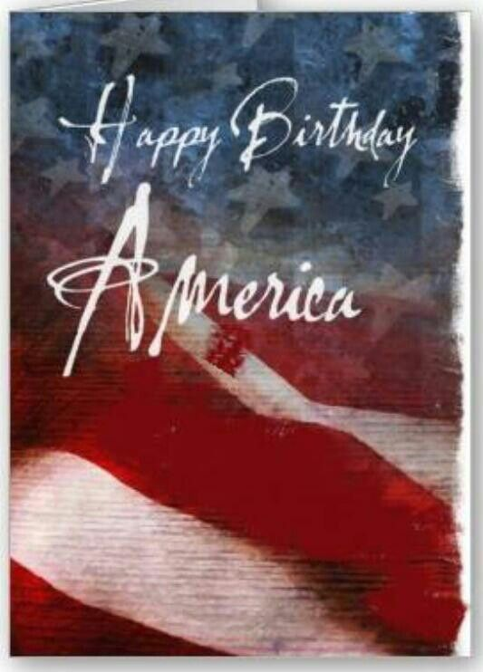 Happy Birthday America Happy 4th of July Happy Independence Day