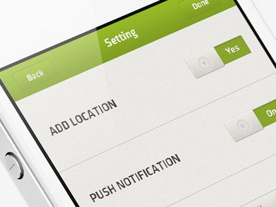Mobile App UI by Nydre