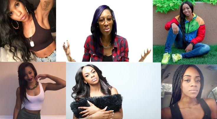 black lesbian female comedians