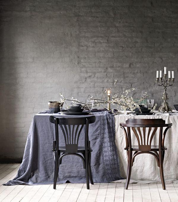 Sillas estilo Bistrot de Olsson&Jensen #estilonordico