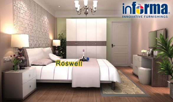 Roswell bed set   informa.co.id