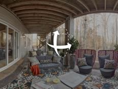covered porch from hgtv smart home - Hgtv Smart Home Sweepstakes