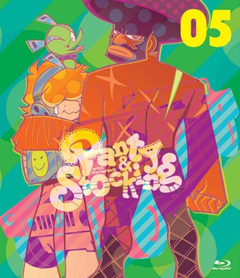 Jaquette du Blu-Ray de Panty & Stocking with Garterbelt Volume 5