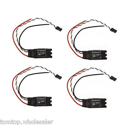 ﹩39.86. 4 Pcs Hobbywing XRotor 20A ESC Asia-pacific Version for DJI F330 F450 Quadcopter    For Vehicle Type - Quadcopter, Part - ESC, UPC - 738920410066