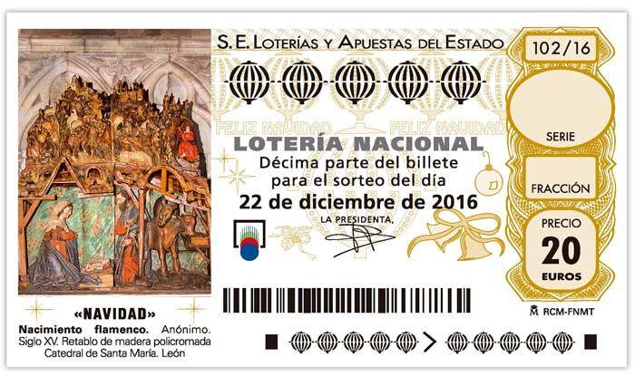 La Lotería de Navidad 2016 a la venta en más de 10.000 administraciones - http://navidad.es/18574/loteria-navidad-2016/
