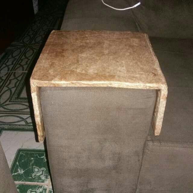 Porta Copos Para Sofa Em Papelao E Forrado Com Filtro De Cafe Usados E Cola Branca Porta Copos Sofa Porta Copos Sofa