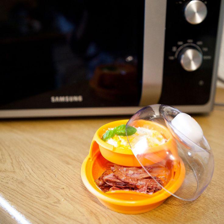 Bacon & Eggs-Set für die Mikrowelle