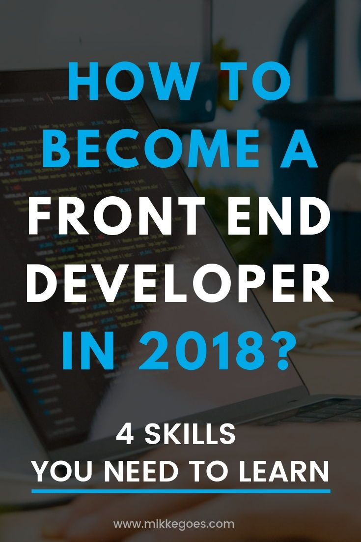 4 Must Have Skills To Become A Web Developer In 2019 Learn Web Design Learning Web Learn To Code