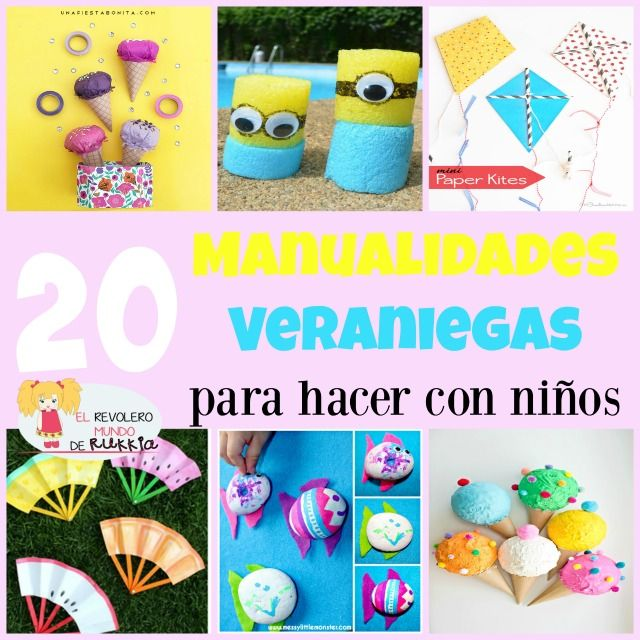 17 best images about verano on pinterest deep sea diver - Cositas para bebes manualidades ...