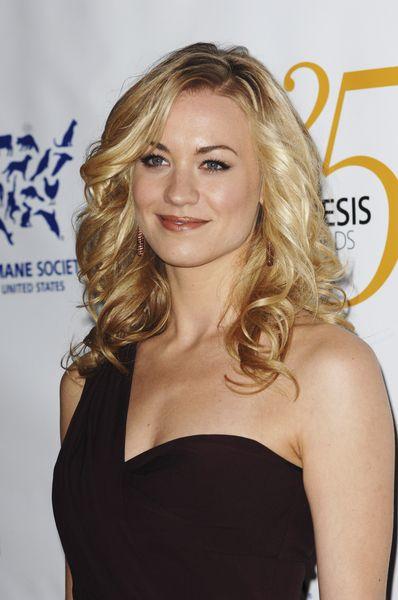 Yvonne Strahovskis gorgeous, blonde hairstyle