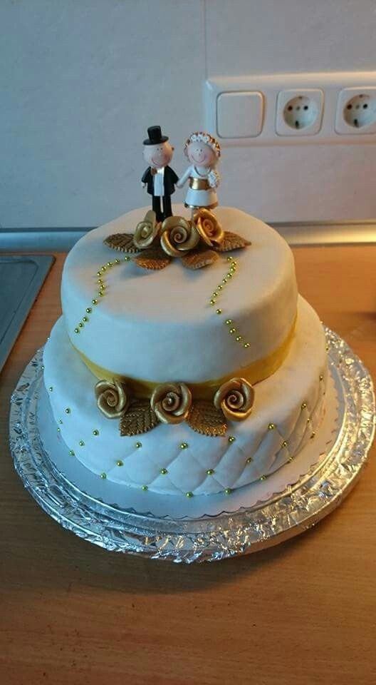 pin by ines nagel on goldene hochzeit pinterest torte. Black Bedroom Furniture Sets. Home Design Ideas