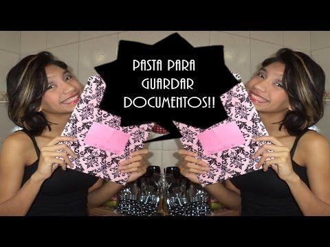 DIY Pastas Personalizadas para mapas mentais/cronogramas - YouTube