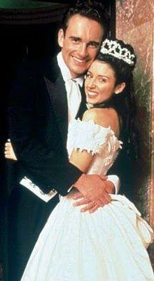 Dannii Minogue married actor Julian McMahon in Melbourne in 1994