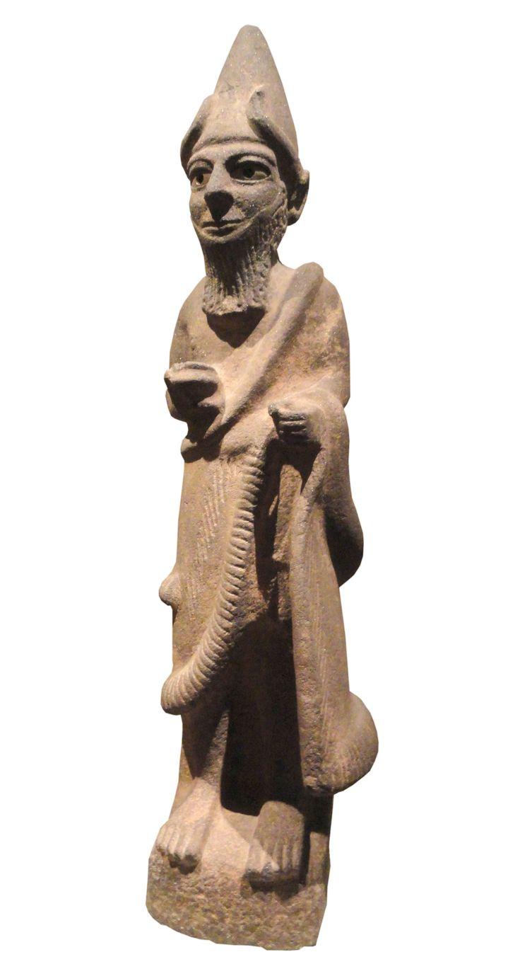 Estatua de dios sirio (Museo de Arte de Cleveland, Siglos XVII-XVI a