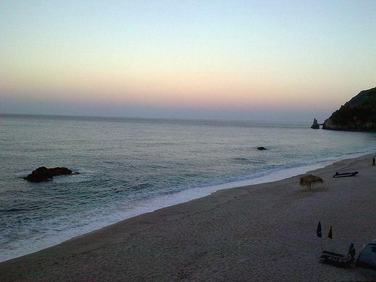 sunset at agioi saranta pelion greece!