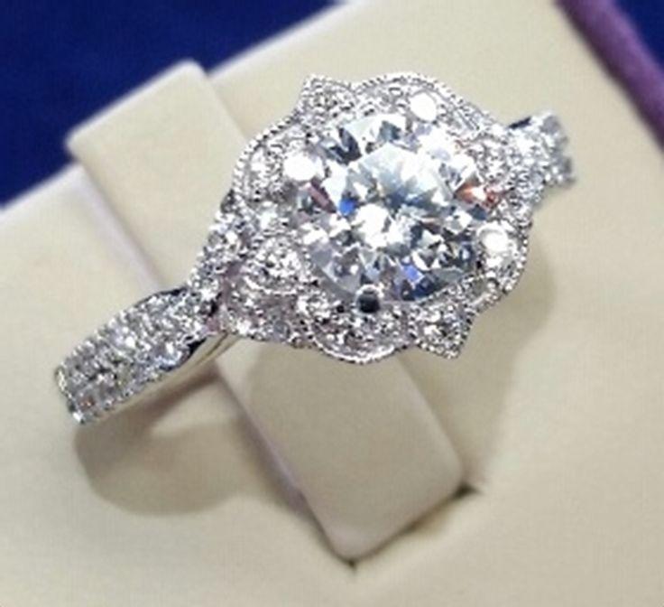 14KW .31CTW. DIAMOND ENGAGEMENT MOUNTING Matthew Erickson Jewelers