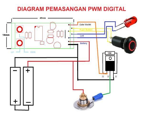 Jual beli PWM digital Box Mod untuk Diy box mod di Lapak Ongki suhendar - kgs_sensor_sentuh. Menjual Vapor & Rokok Elektrik - PWM digital Box Mod  dengan ini ubah mod unregulated anda menjadi regulated! PWM chip untuk box mod dual/triple battery series  Hanya PWM Chip Digital Controller   - MOSFET, Tombol, Connector 510 tidak termasuk size : lebar (18mm) x panjang (45mm)  kelebihan PWM digital: + On, Off (Untuk menghidupkan Klik 3x & untuk Mematikan Klik 3x ) + Led ( jika di hidu...