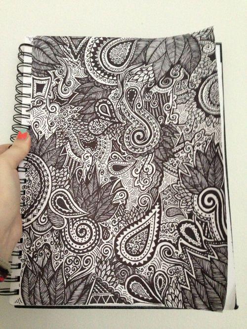 Cute idea when you 39 re bored at school art pinterest for Random sketch ideas