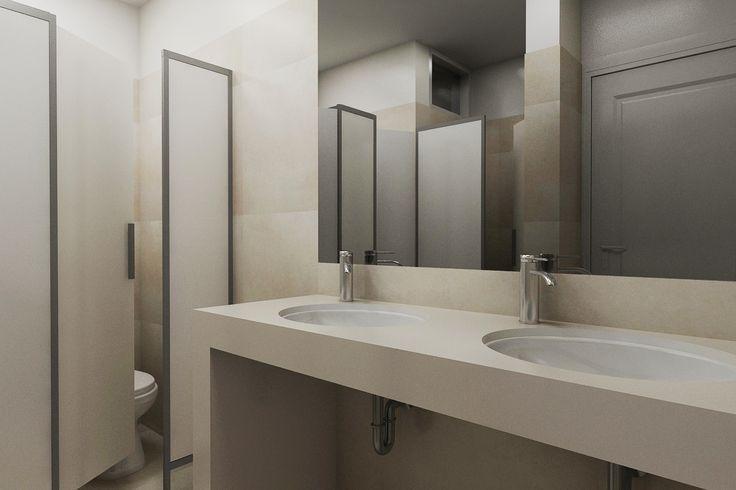 Diseno De Un Baño Publico:Diseño de Baño Publico