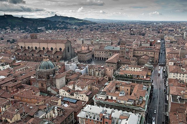 Bologna - view from the Asinelli Tower