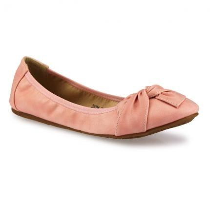 Sportliche Ballerinas #pink #rose #flats #shoe #jepo