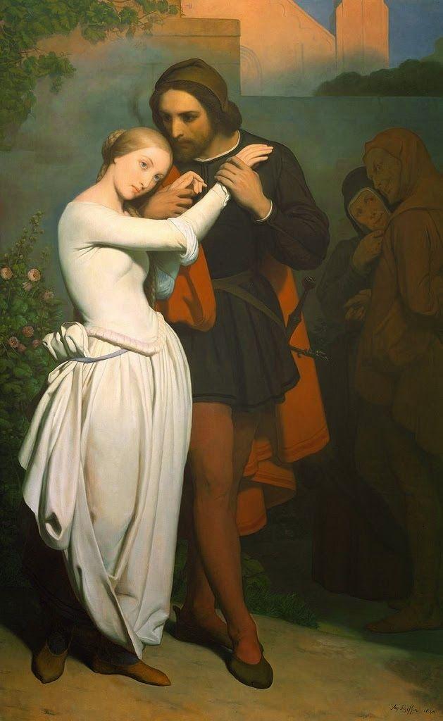 Le Prince Lointain: Ary Scheffer (1795 -1858 ), Faust et Marguerite da...