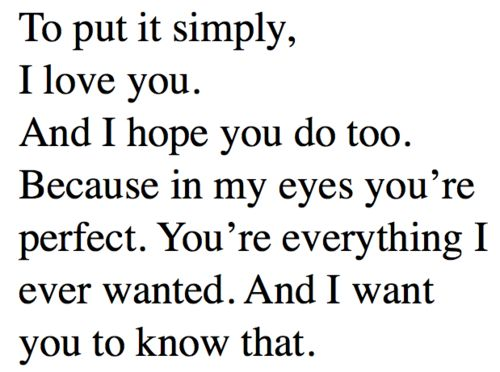 Yourmyeverythingquotes Youre My Everything Tumblr Love
