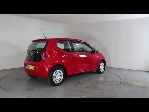 VOLKSWAGEN UP 1.0 MOVE UP - Air Conditioning | In red with 32000 miles on the clock. Click here to see the full listing: ...
