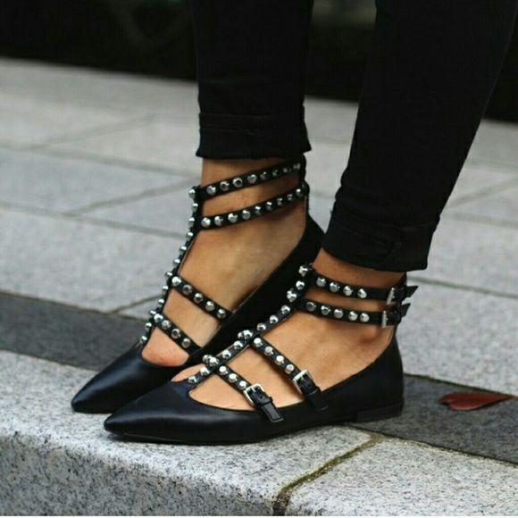IN SEARCH OF Looking for....Zara strappy flats Zara Shoes Flats & Loafers