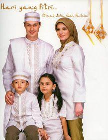 Busana Muslim - Ketika hari menjelang lebaran tiba, tidak sedikit dari Anda yang ingin memakai busana lebaran bertema senada atau seragam dengan suami, anak atau keluarga inti lainnya.