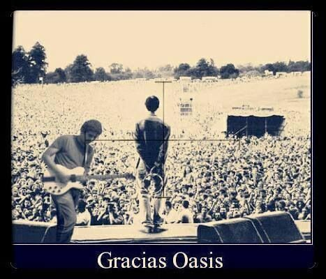 Oasis, when they were young