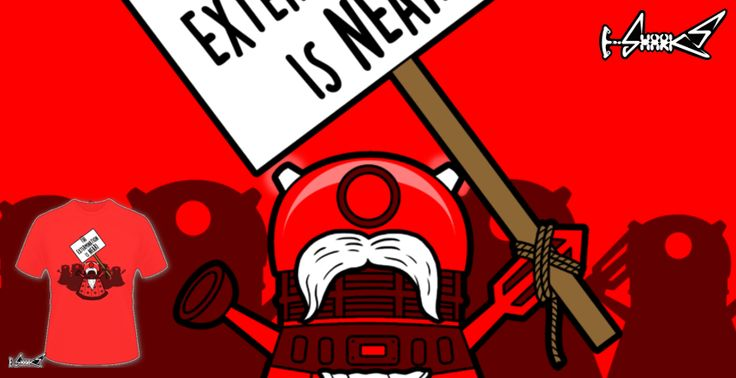 T-shirts - Design: The Extermination is Near! - by: Boggs Nicolas
