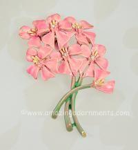 BSK My Fair Lady Floral Bouquet brooch