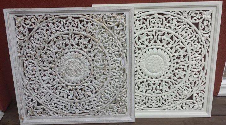 Väggdekor i trä till vägg eller fönster
