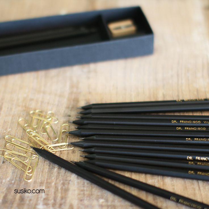 Caja de lápices personalizados, un regalo precioso y muy útil
