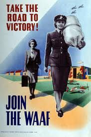 Take the Road to Victory - Join the WAAF.